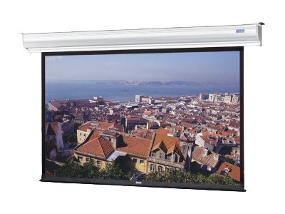 Da-Lite Tensioned Contour Electrol Projection Screen, Dual Vision, 16:9, 92, 88523LS, 16233407, Projector Screens