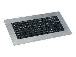 iKEY NEMA 4X Panel Mount Keyboard With Integrated HulaPoint Pointing Device, PS 2, Stainless Steel, PM-5K-PS2, 10082151, Keyboards & Keypads