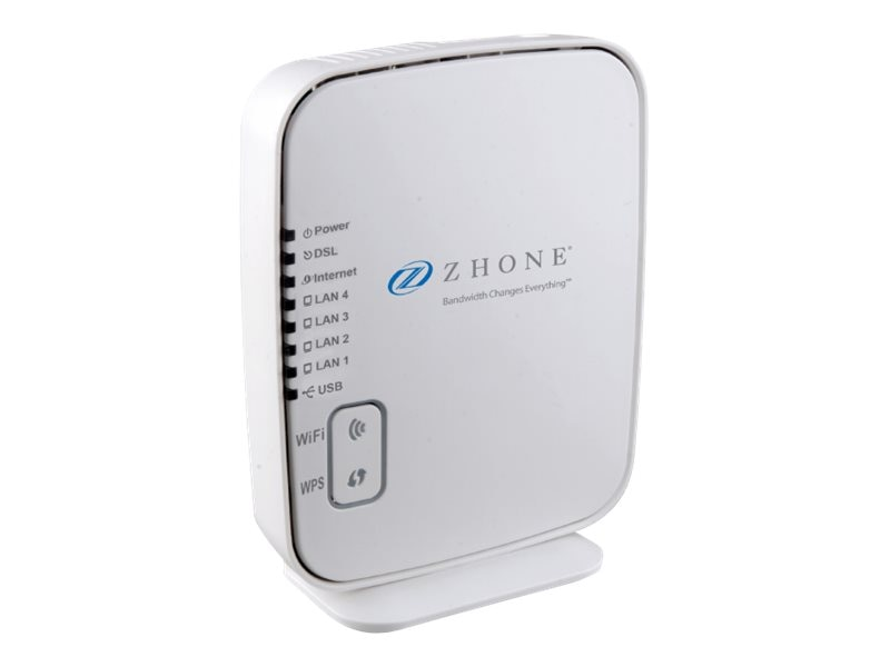 Zhone 6519-W1-NA 4-Port Modem, 6519-W1-NA, 25483889, Wireless Routers