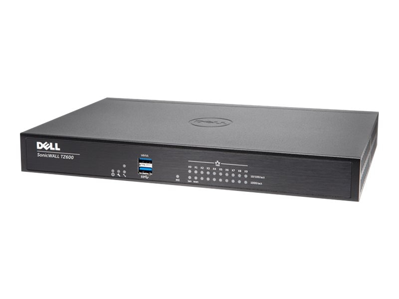 SonicWALL SonicWALL TZ600 Firewall with TotalSecure (1 Year), 01-SSC-0219