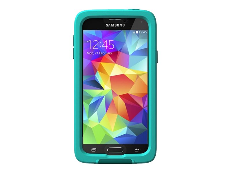 Lifeproof Fre Case for Samsung Galaxy S5, Teal Dark Teal, 2401-03, 18817369, Carrying Cases - Phones/PDAs