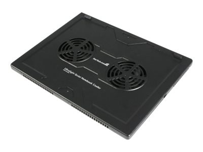 StarTech.com Lightweight Laptop Cooler with 2 Fans, NBCOOLERLE