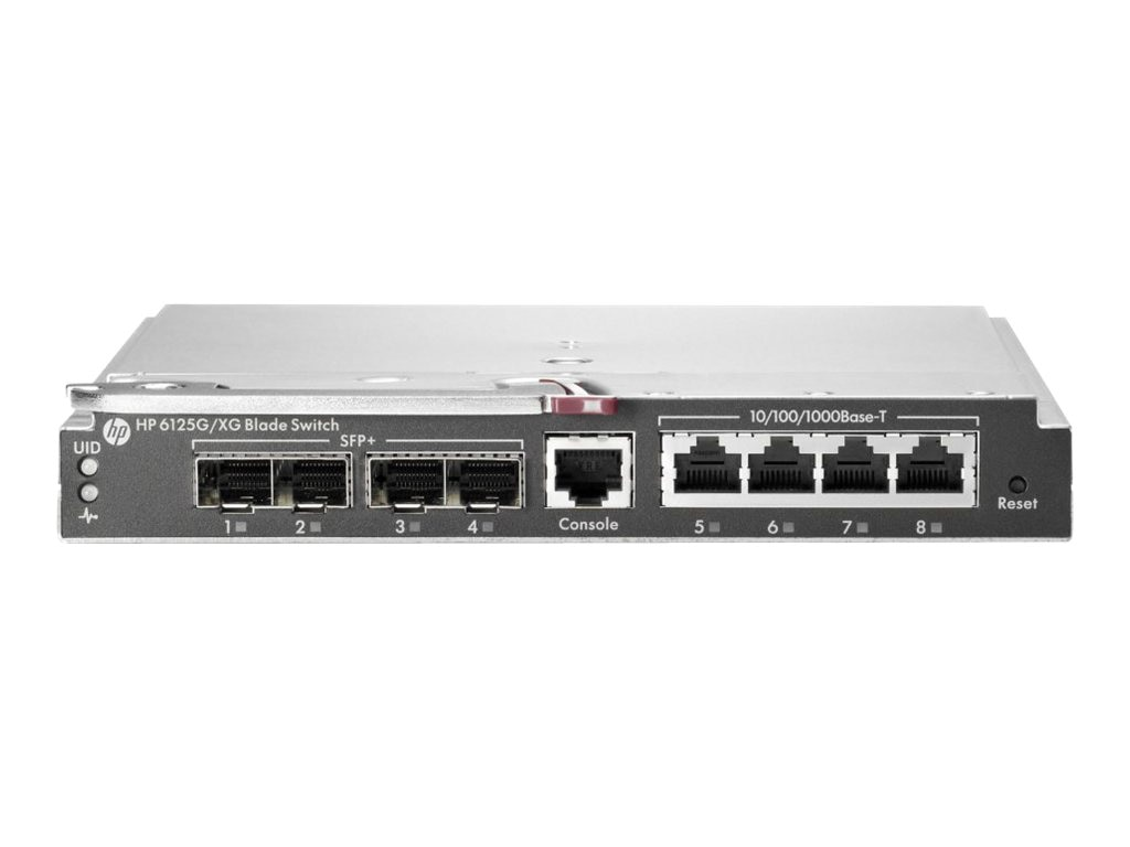 HPE 6125G XG Ethernet Blade Switch, TAA, 737226-B21, 16455641, Network Switches