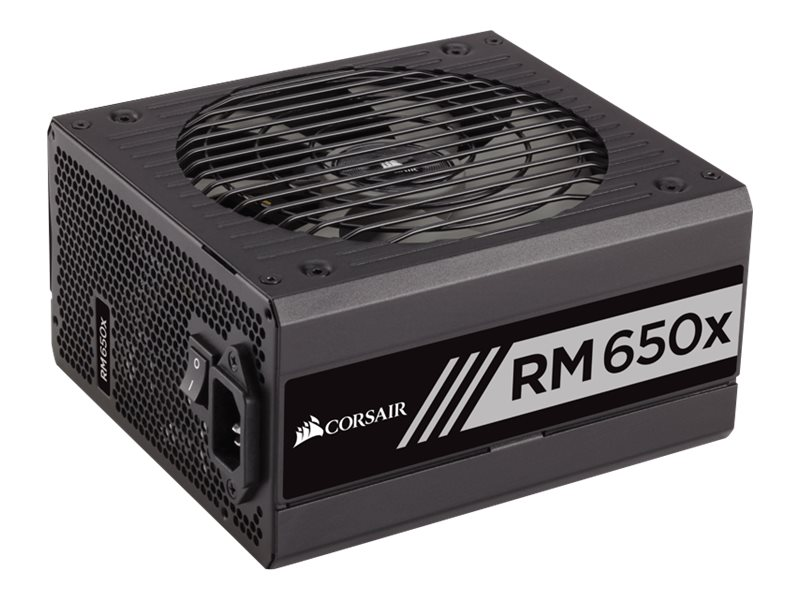 Corsair RM650x 650W 80 PLUS Gold Certified Fully Modular Power Supply Unit, CP-9020091-NA