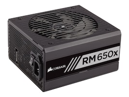 Corsair RM650x 650W 80 PLUS Gold Certified Fully Modular Power Supply Unit, CP-9020091-NA, 31631139, Power Supply Units (internal)