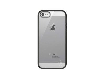 Belkin View Case for iPhone 5 5s, Clear Blacktop