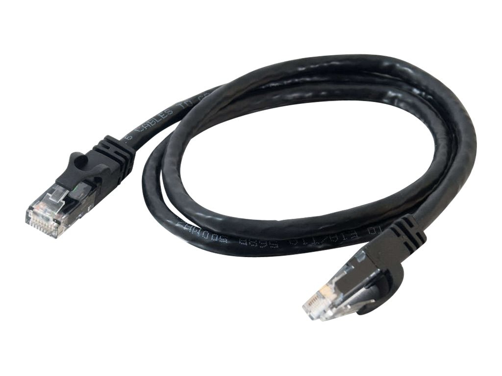 C2G Cat6 Snagless Unshielded (UTP) Network Patch Cable - Black, 15ft
