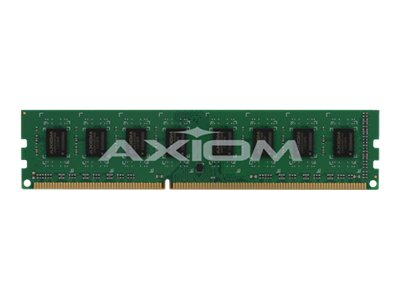 Axiom 4GB PC3-10600 DDR3 SDRAM UDIMM, TAA, AXG23792002/1, 15029210, Memory