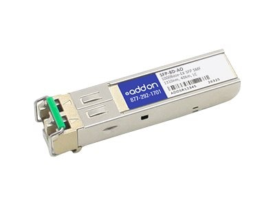 ACP-EP AddOn 1000BASE-EX SFP 40KM SMF For RAD, SFP-8D-AO