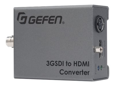 Gefen 3GSDI to HDMI Converter, EXT-3G-HD-C, 18158367, Switch Boxes