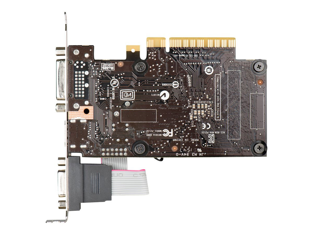 eVGA GeForce GT 710 PCIe Graphics Card, 1GB DDR3, 01G-P3-2711-KR