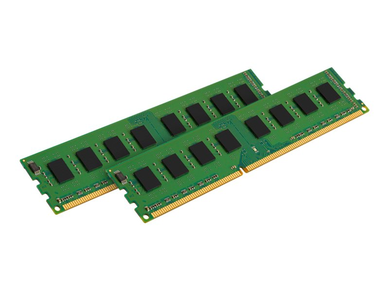 Kingston 8GB PC3-12800 240-pin DDR3 SDRAM DIMM Kit for Select Models, KVR16N11S8K2/8, 14738292, Memory