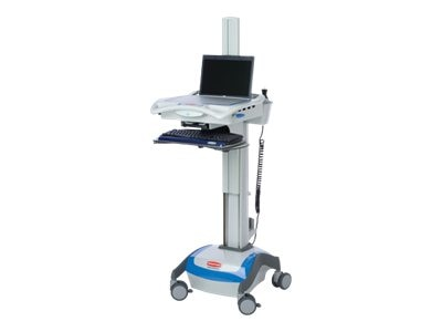 Rubbermaid M38 Notebook Cart, 55AMP, 9M38-00-DL55, 11662931, Computer Carts - Medical