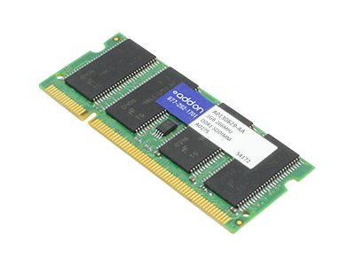 ACP-EP 1GB PC2100 200-pin DDR SDRAM SODIMM, A0130829-AA