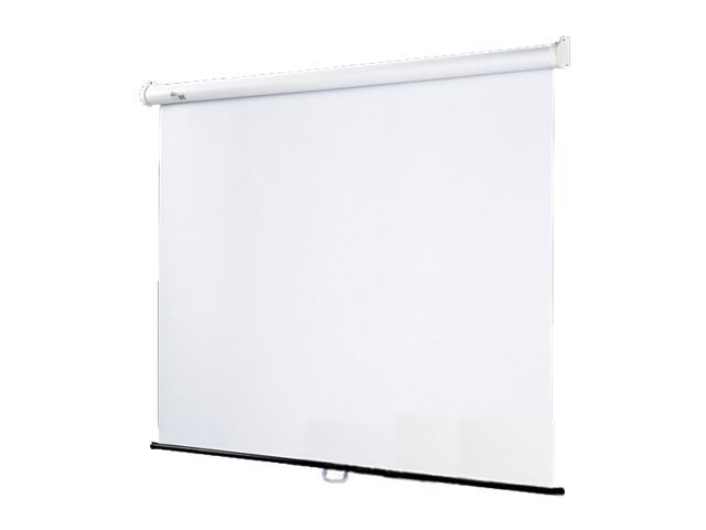 Draper Star Matte White Projection Screen, Gray Case, Square 1:1, 70 x 70in