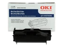 Oki Black Image Drum for B411 & B431 Series Printers, 44574301, 11591483, Toner and Imaging Components