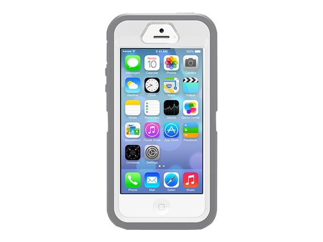OtterBox Defender for iPhone 5S & 5, Glacier, 77-33324, 16248828, Carrying Cases - Phones/PDAs