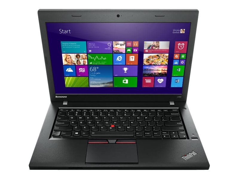 Lenovo TopSeller ThinkPad L450 1.9GHz Core i5 14in display, 20DT001DUS, 18469851, Notebooks