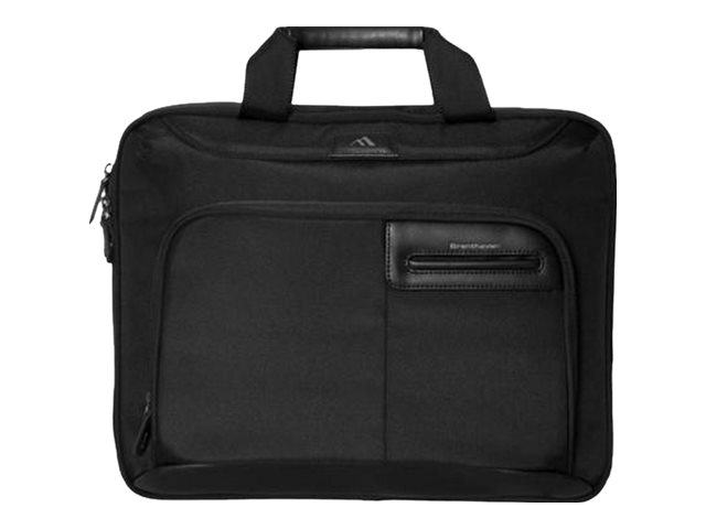 Brenthaven Elliot Slim Brief Case with Magnetic iPad Pocket for 13 & 15 Air & Pro MacBooks, 2302
