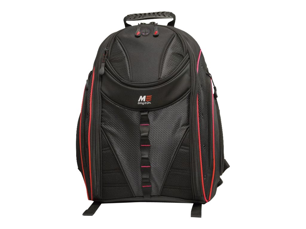 Mobile Edge Express Backpack 2.0 16 17 Mac, Red, MEBPE72, 17455010, Carrying Cases - Notebook