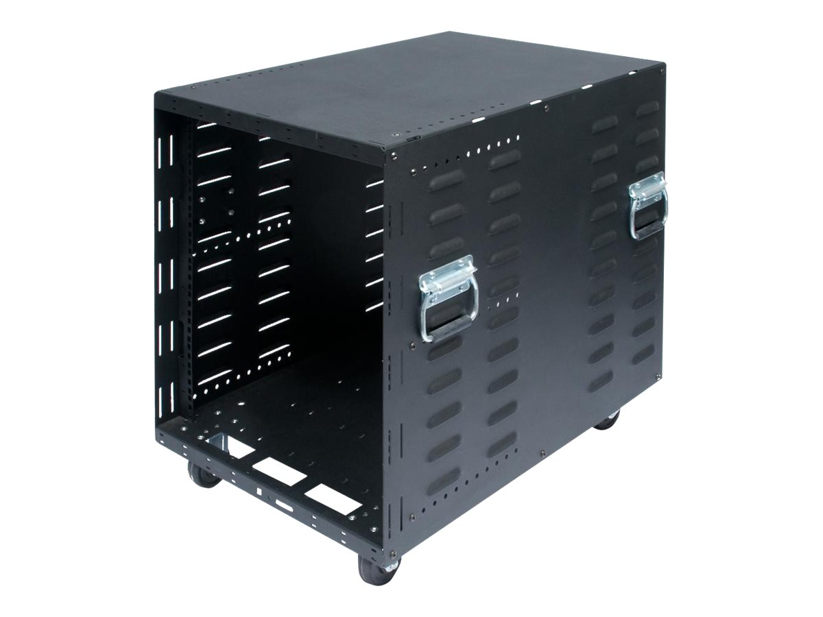 Innovation First 12U Portable Server Rack, Standard Casters
