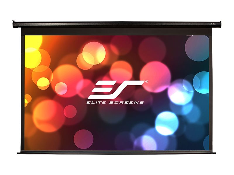 Elite Economy Electric Projection Screen, Black Case, 100in