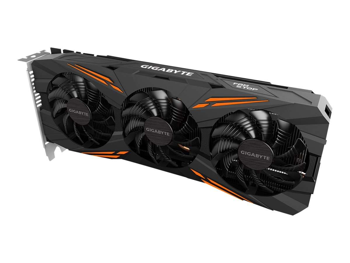 Gigabyte Tech Geforce GTX 1080 Graphics Card, 8GB GDDR5X