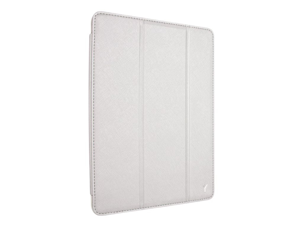 Joy Factory iPad Air SmartSuit Case White Silver, CSA205W, 21014508, Carrying Cases - Tablets & eReaders