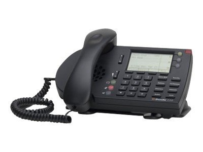 ShoreTel ShorePhone IP230g - Black, 10268, 12474764, VoIP Phones