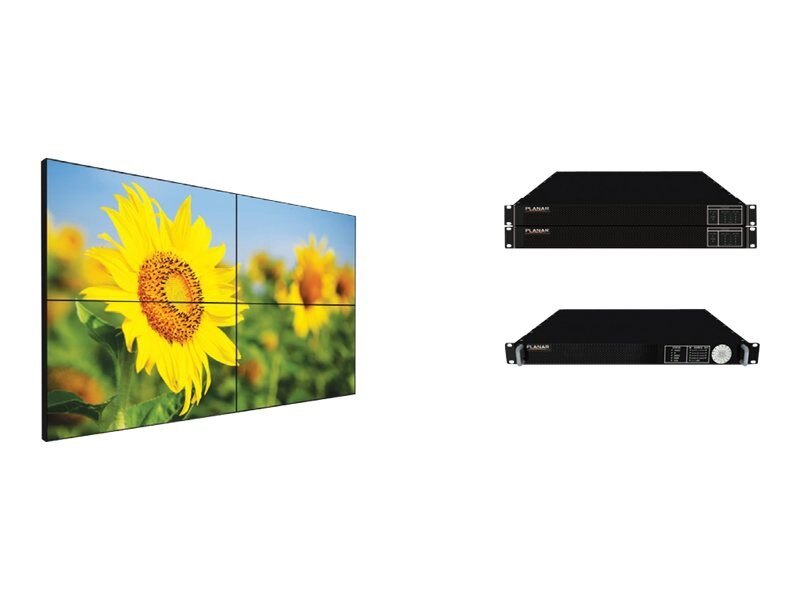 Planar 60 HX60 LED-LCD Video Wall, Black, 997-6826-00