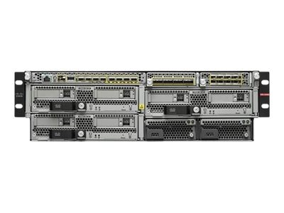 Cisco FirePower 9300 AC 3RU Chassis (0 PSU, 4 Fans)