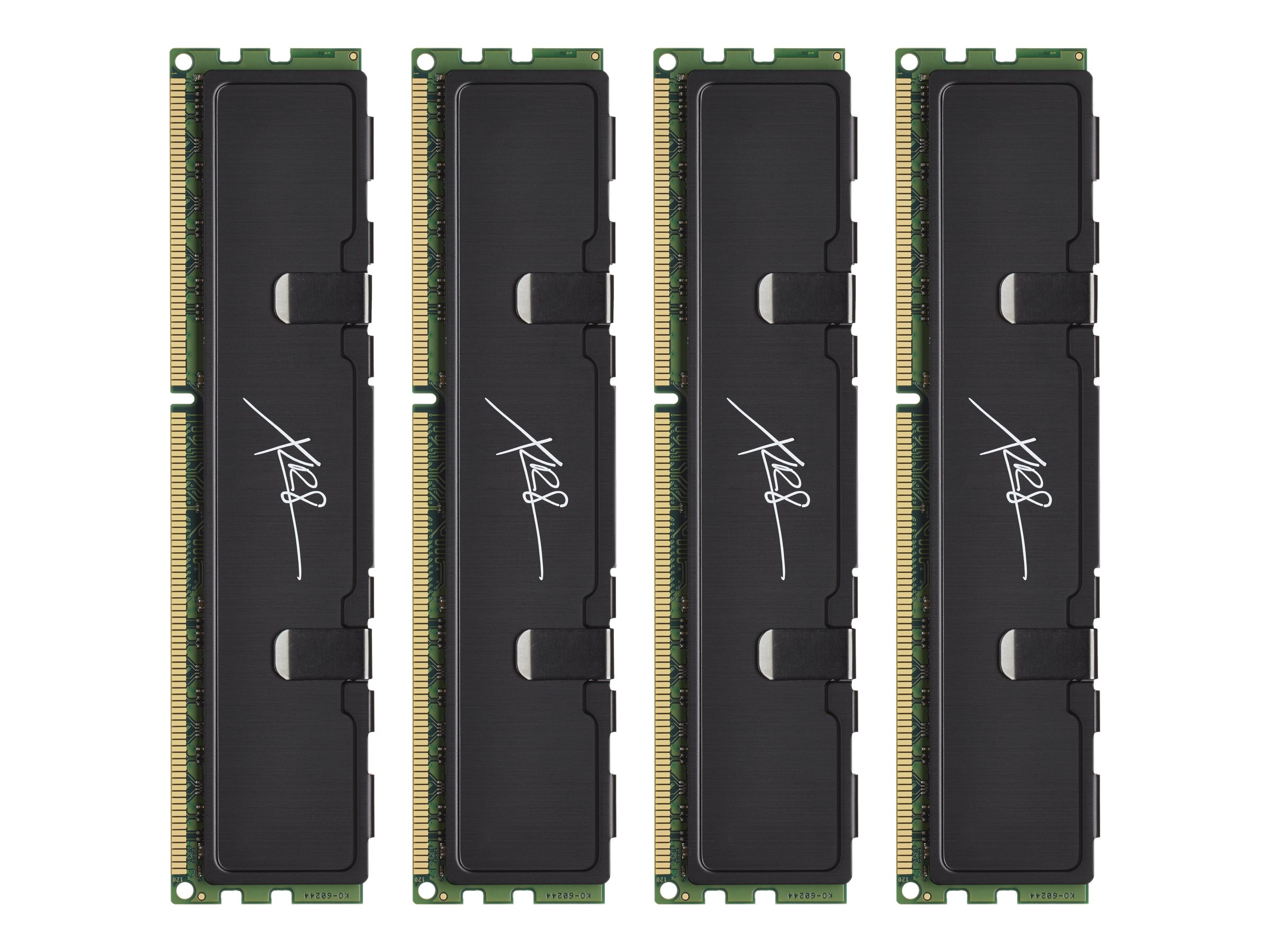 PNY 16GB PC3-12800 240-pin DDR3 SDRAM DIMM Kit, MD16384K4D3-1600-X9