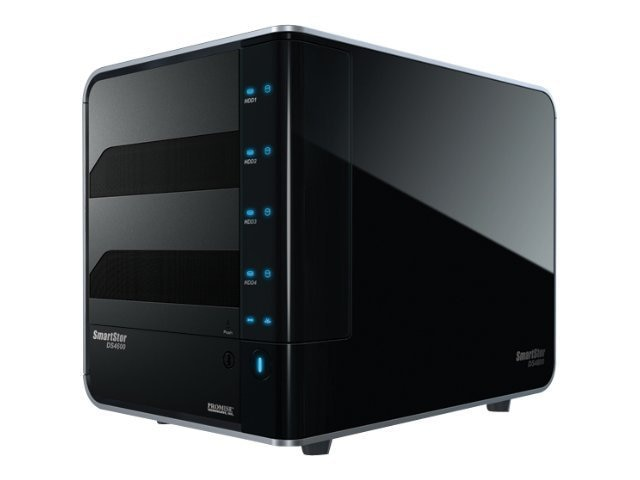Promise SmartStor DS4600 4-Bay Hot-swappable Direct Attached Storage, DS4600, 10181968, Hard Drive Enclosures - Multiple