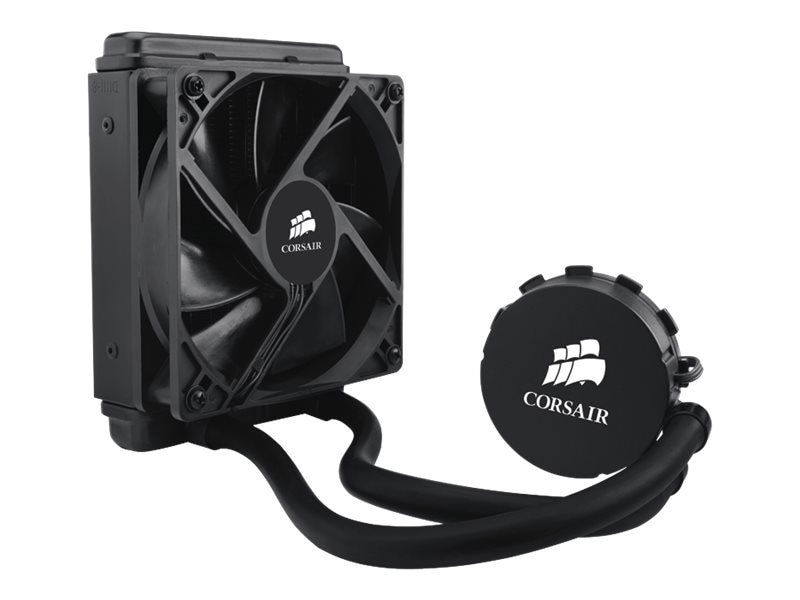 Corsair Hydro Series H55 Quiet CPU Cooler, CW-9060010-WW, 16096836, Cooling Systems/Fans