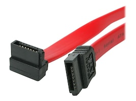 4Xem Standard to Right Angle SATA 3.0 Cable, 3ft, 4XSATA36RA, 16921761, Cables