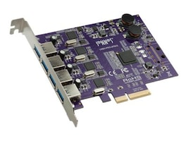 Sonnet Allegro USB 3.0 4-Port PCIe Card, USB3-PRO-4PM-E, 20528697, Controller Cards & I/O Boards