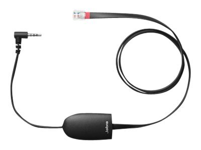 Jabra Electronic Hook Switch Solution for KX-NT553 556 and KX-DT543 546, 3ft, 14201-40