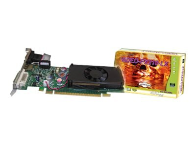 Jaton NVIDIA GF 210 PCIe 2.0 x16 Low-Profile Graphics Card, 512MB DDR2, VIDEO-PX210-LX, 11020525, Graphics/Video Accelerators