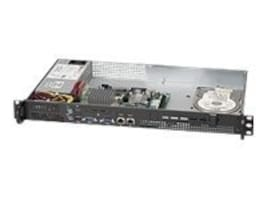 Supermicro 1U Mini Chassis for Atom, 200W PSU, CSE-503L-200B, 11636645, Cases - Systems/Servers