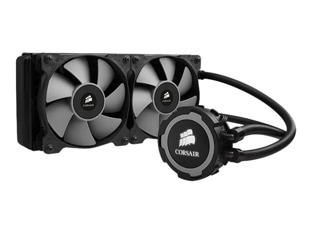 Corsair Hydro Series H105 240mm Extreme Performance Liquid CPU Cooler, Black