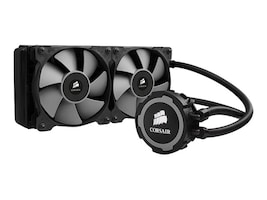 Corsair Hydro Series H105 240mm Extreme Performance Liquid CPU Cooler, Black, CW-9060016-WW, 17759961, Cooling Systems/Fans