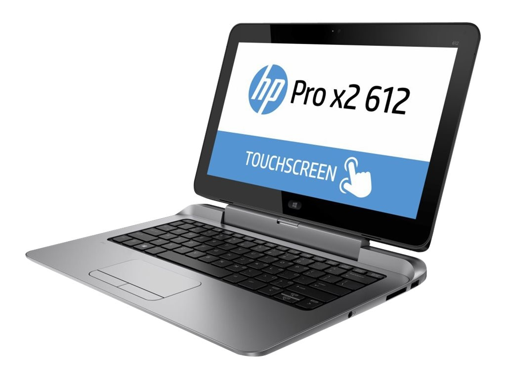 Scratch & Dent HP Pro x2 612 G1 Core i5-4302Y 1.6GHz 8GB 256GB SSD abgnac BT FR WC 2+4C 12.5 FHD MT W8.1P64