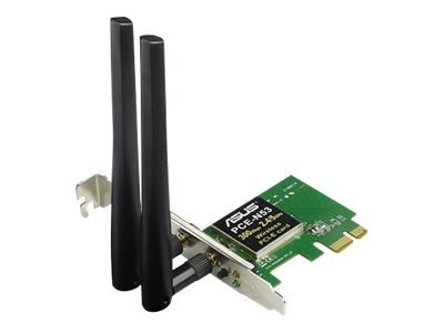 Asus PCE-N53 Wireless N600 PCIe Adapter 2X2DBI SMA Antenna, PCE-N53, 14274555, Wireless Adapters & NICs