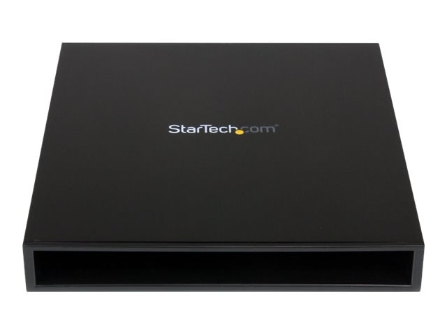 StarTech.com USB to Slimline SATA CD DVD Optical Drive Enclosure, SLMSOPTB