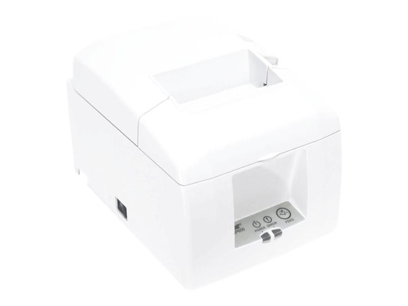 Star Micronics TSP654IIE3-24 Thermal 203dpi Ethernet Printer - White w  Cutter & Power Supply, 39481360, 17542156, Printers - POS Receipt