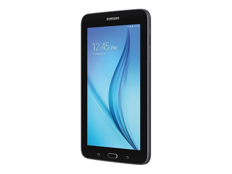 Samsung Galaxy Tab E Lite QC 1.3GHz 1GB 8GB BT WC 7 WSVGA MT Android 4.4 Black, SM-T113NYKAXAR, 31906673, Tablets