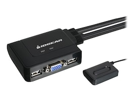 IOGEAR 2-port USB KVM Switch, Instant Rebate - Save $2, GCS22U, 8839505, KVM Switches