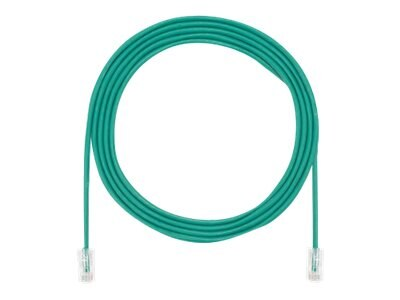Panduit Cat5E Copper SD Cable Patch Cord, Green, 15ft
