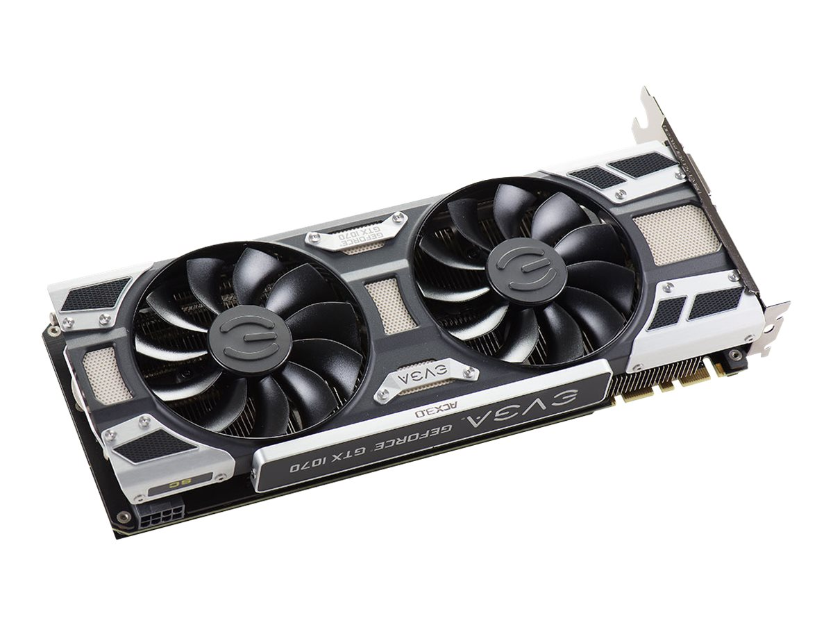 eVGA GeForce GTX 1070 PCIe 3.0 x16 Graphics Card, 8GB GDDR5, 08G-P4-6173-KR