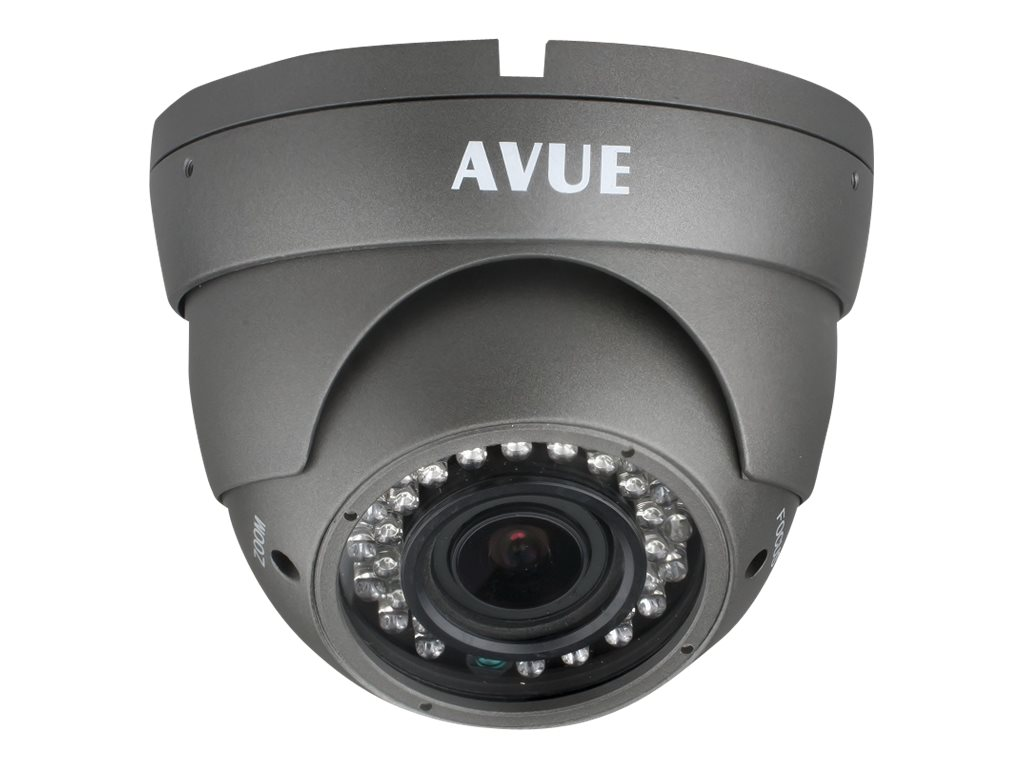 Avue 1000 TVL Day Night Dome CCTV Camera with 2.8-12m Lens and OSD, AV676PIR